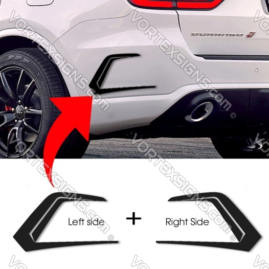 Custom bumper vent Wings decorative sticker