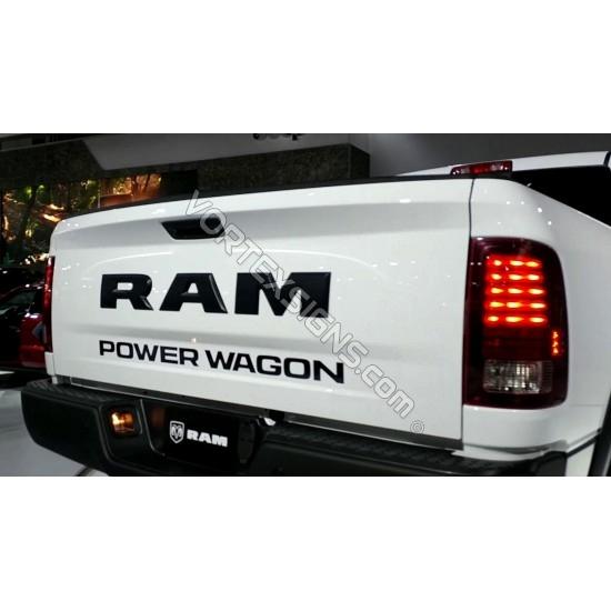 Power Wagon Tailgate decal sticker