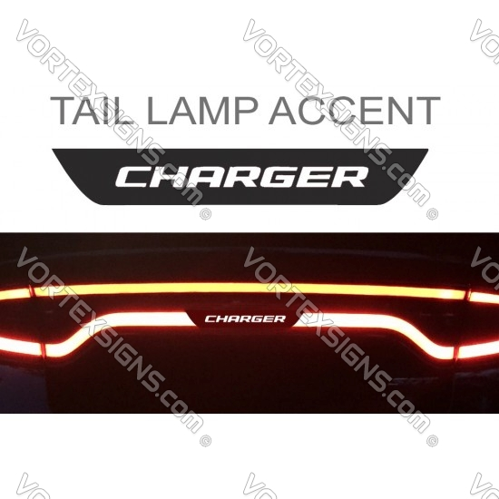Charger Tail light lamp Accent Decal sticker