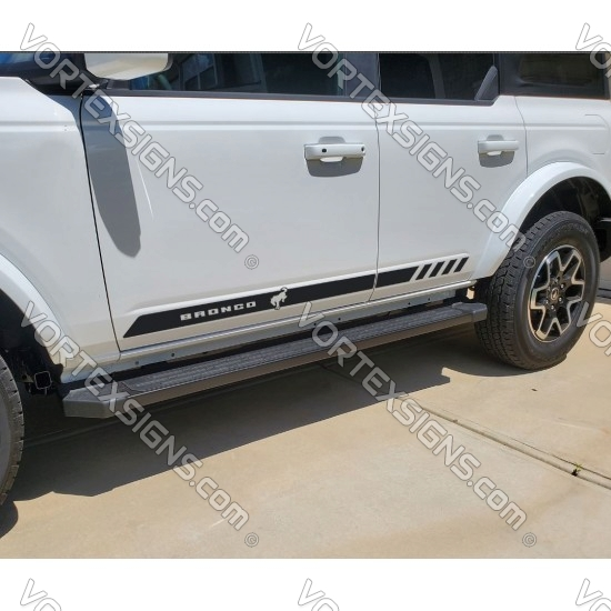 2021 2022 bronco full size stripes decals graphics for 6G Ford Bronco - v1 sticker