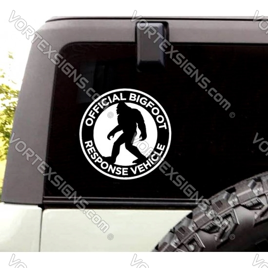 Ford Bronco BigFoot Response Vehicle sticker