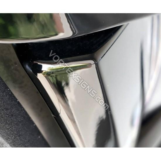 C pillar post ANTI-SCRATCH piano finish protector film PPF sticker