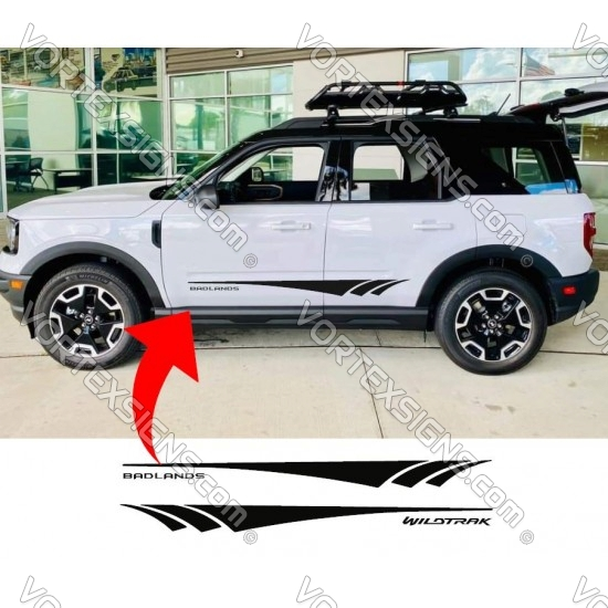Ford Bronco Sport Door Body bottom stripe Graphic - 1 sticker