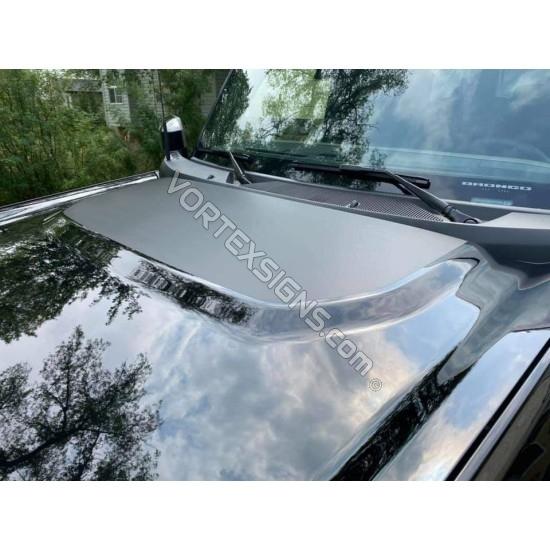 matte black Hood bump decal sticker for 6G Ford Bronco sticker