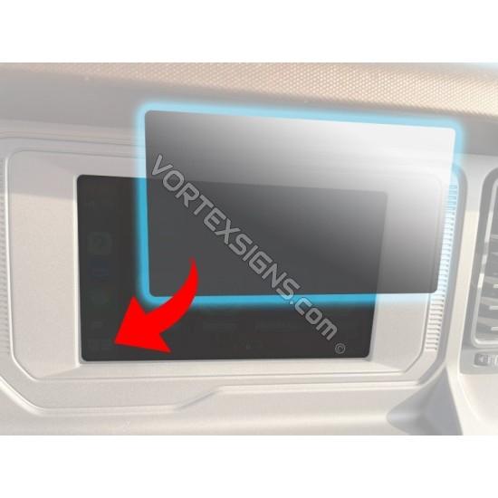 "8"" Screen fingerprint dash screen Protection film  Ford Bronco 6G sticker"