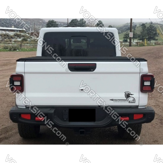 jeep Gladiator Tail Gate Graphic sticker online