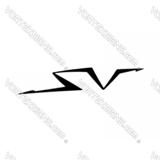 SV Logo sticker accessory