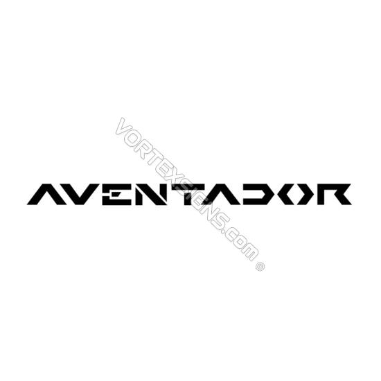lamborghini Aventador sticker accessory