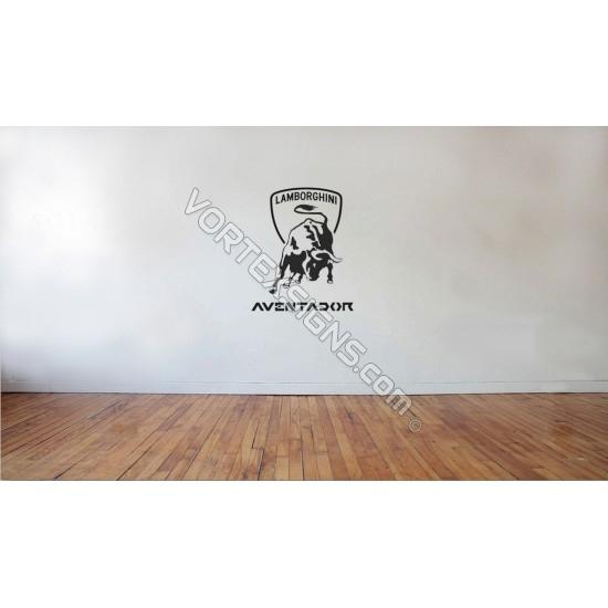 Avendador Wall Logo sticker