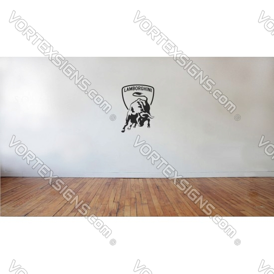 lamgo Wall Logo sticker for your kid