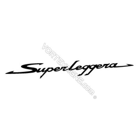 Superlaggera sticker