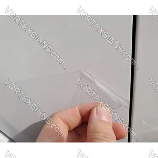 Fender Mud Protetion film PPF StoneGuard for Ford Bronco 6G - CLEAR sticker