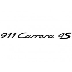 911 Carrera 4S Decal