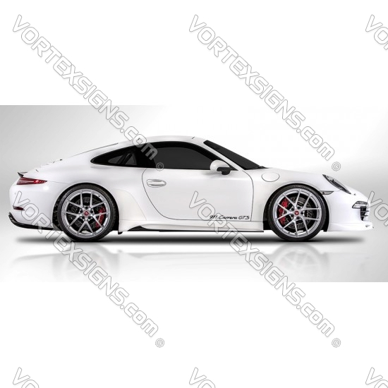 porsche 911 Carrera GTS Decal