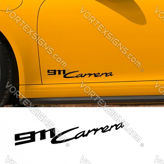 911 turbo S Decal (992 style) sticker body decal