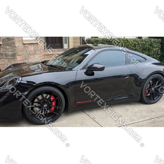 911 Carrera S Decal (992 style) sticker for 2020 and up models