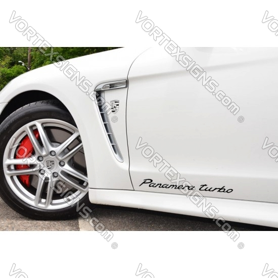 Panamera turbo exterior body sticker script