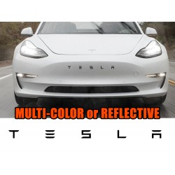 SALE! Tesla Model 3 front bumper grille decal overlay