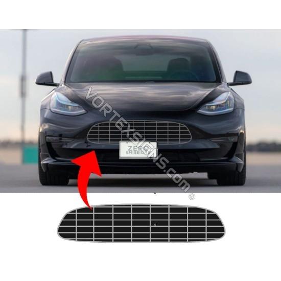 maserati Model 3 bumper overlay decal sticker outline