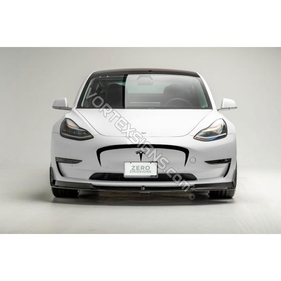 Model 3 bumper overlay decal sticker