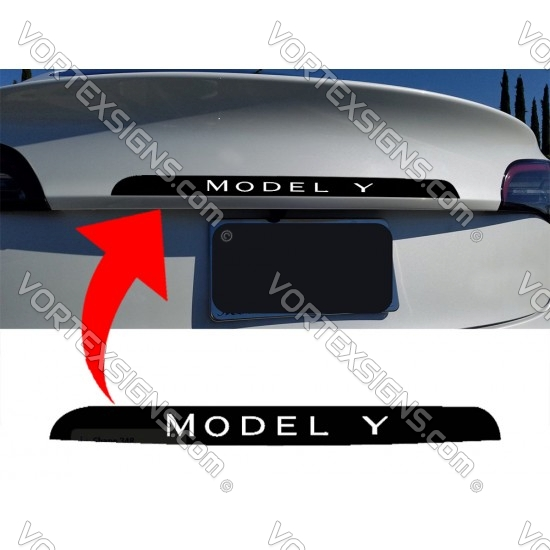 tesla Model Y Trunk Accent sticker decal