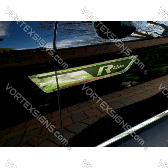 R-line Door Wings for VW sticker