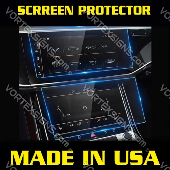 Audi A6 center console protection film
