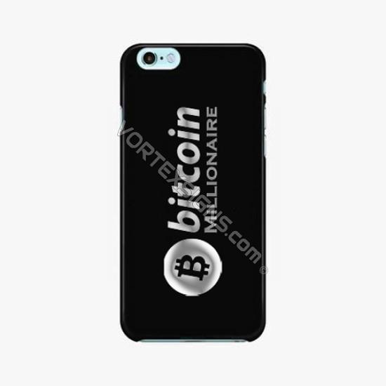 Bitcoin Millionaire Phone decal sticker