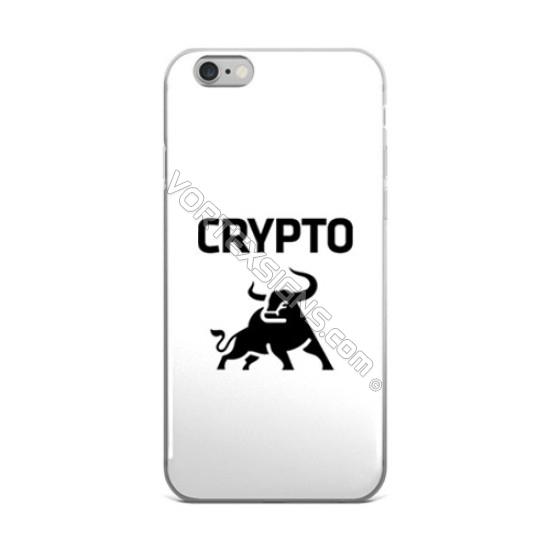 Crypto Bull Phone decal sticker