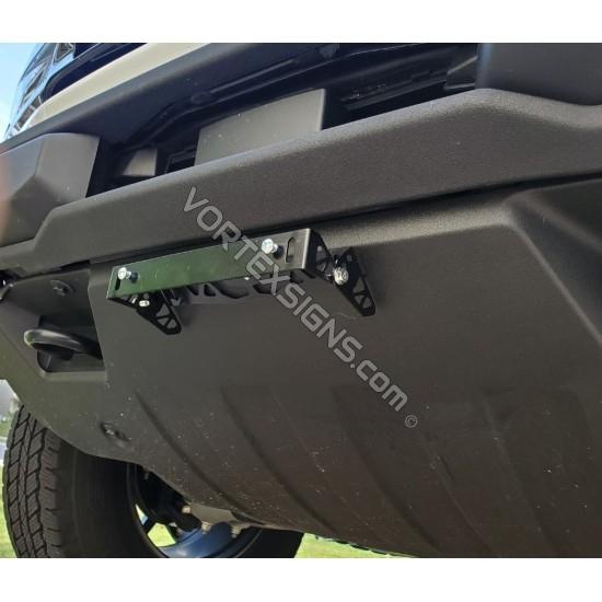Ford Bronco License plate bracket / Relocation Kit  (Sport or Full Body) sticker