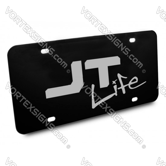 Jeep Gladiator JT Vanity front license Plate (style1) sticker