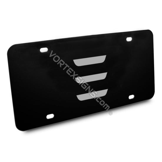 Tesla Logo custom vanity Plates