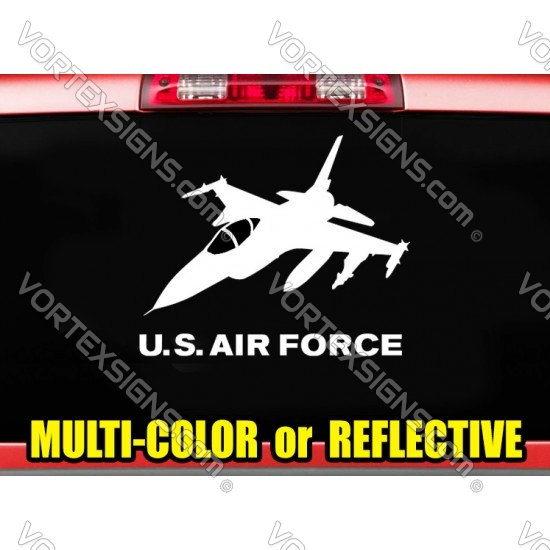 USAF Air Force Plane Decal sticker