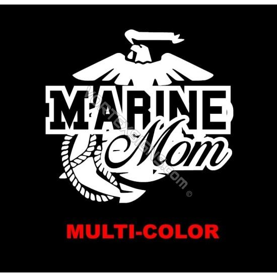 USMC Marine Mom sticker