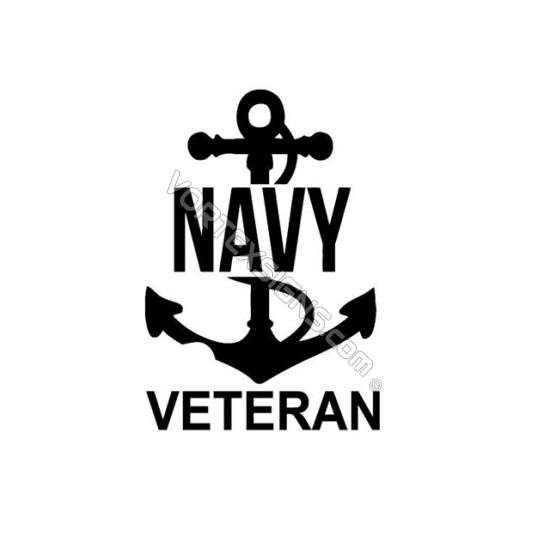 US Navy Veteran sticker