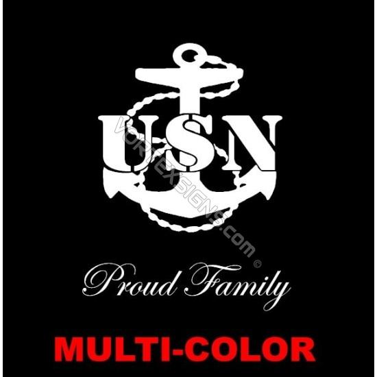 US Navy Family sticker