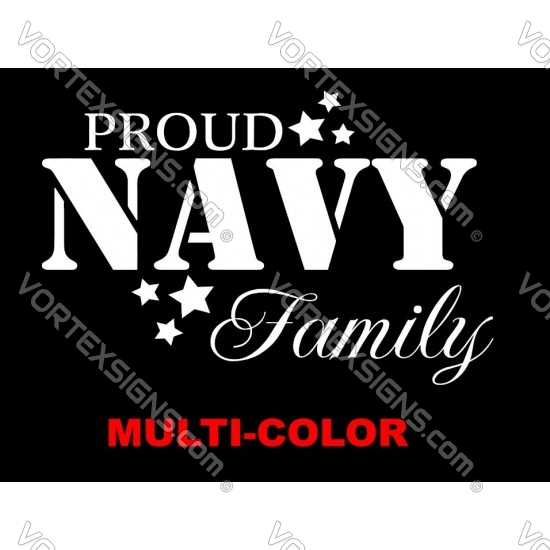 US Navy Family sticker