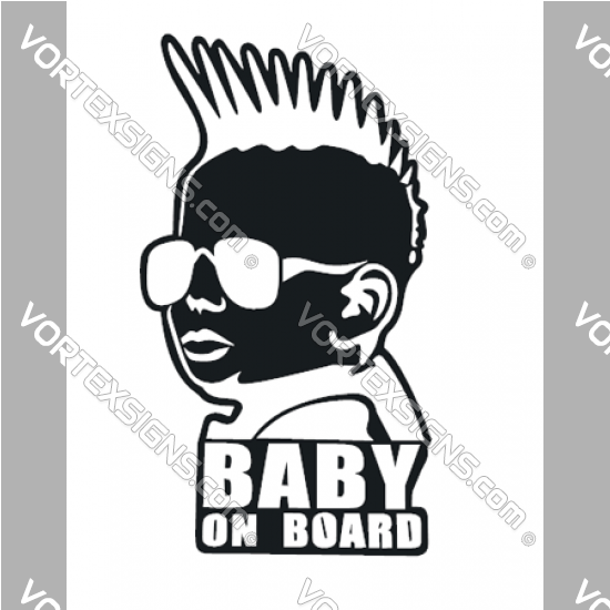 Baby On Board Boy sticker