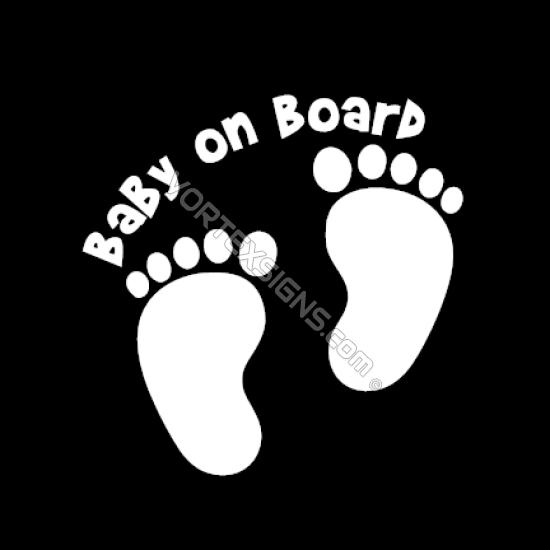 Baby on Board beet sticker