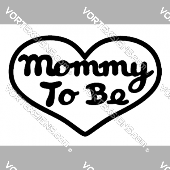 Mommy to be sticker